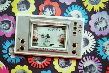 Vintage soviet electronic game