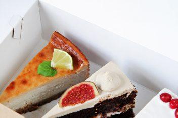 Vegan tortai dėžutėje