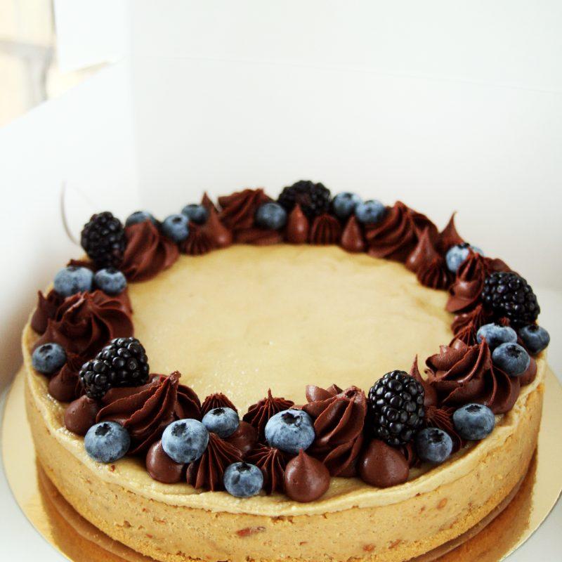 Karamelinis Avinžirnių tortas